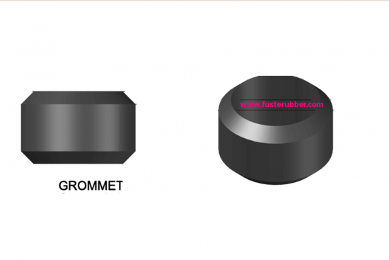 custom black rubber grommet in good quality