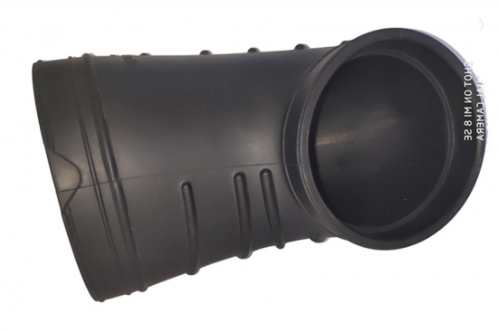 Black  Rubber Hose Air Intake Dust Cover Factory