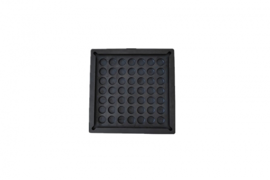 Rectangular Shock Isolating Rubber Pad